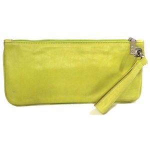 Hobo International Toni Yellow Wristlet Wallet